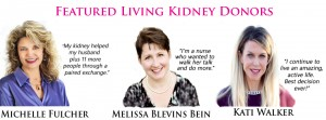 Featured Living Kidney Donors